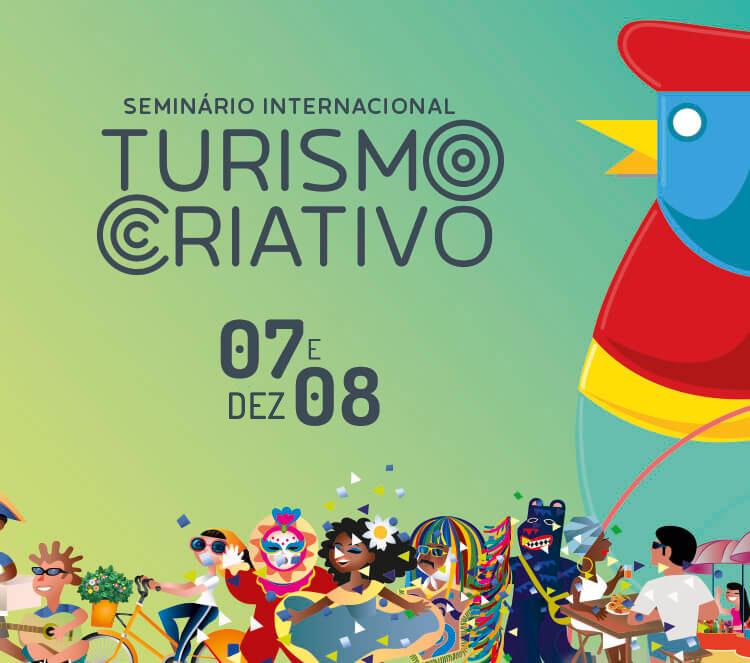 Resultado de imagem para Seminário Internacional de Turismo Criativo